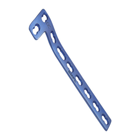 L-Buttress Plate 5mm Right leg with Locking plate I Trauma Implants I Orthopaedic Implants Manufacturer and Exporter