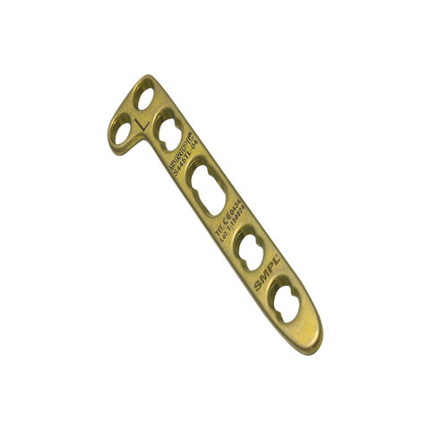 Distal Radius Locking Plate 2.4 mm / 2.7 mm Angled I Trauma Implants I Orthopaedic Implants Manufacturer and Exporter