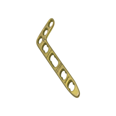 L Distal Radius Locking Plate 2.4 mm / 2.7 mm Angled I Trauma Implants I Orthopaedic Implants Manufacturer and Exporter