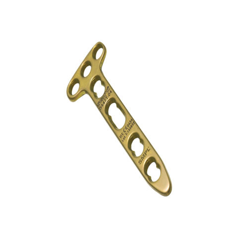T Distal Radius Locking Plate 2.4 mm / 2.7 mm I Trauma Implants I Orthopaedic Implants Manufacturer and Exporter