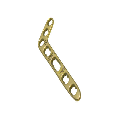 L Distal Radius Locking Plate 2.4 mm / 2.7 mm Oblique AngledI Trauma Implants I Orthopaedic Implants Manufacturer and Exporter