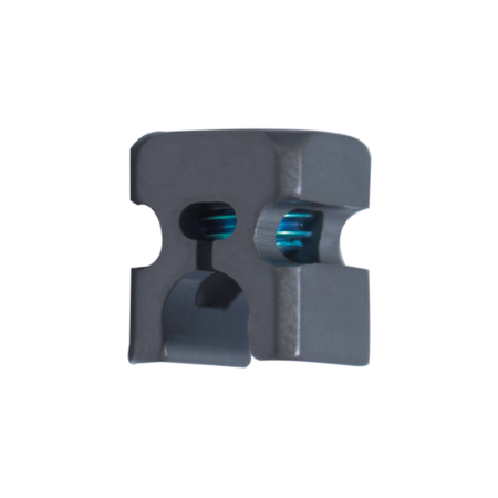 Press fit connector for 3.5mm rod