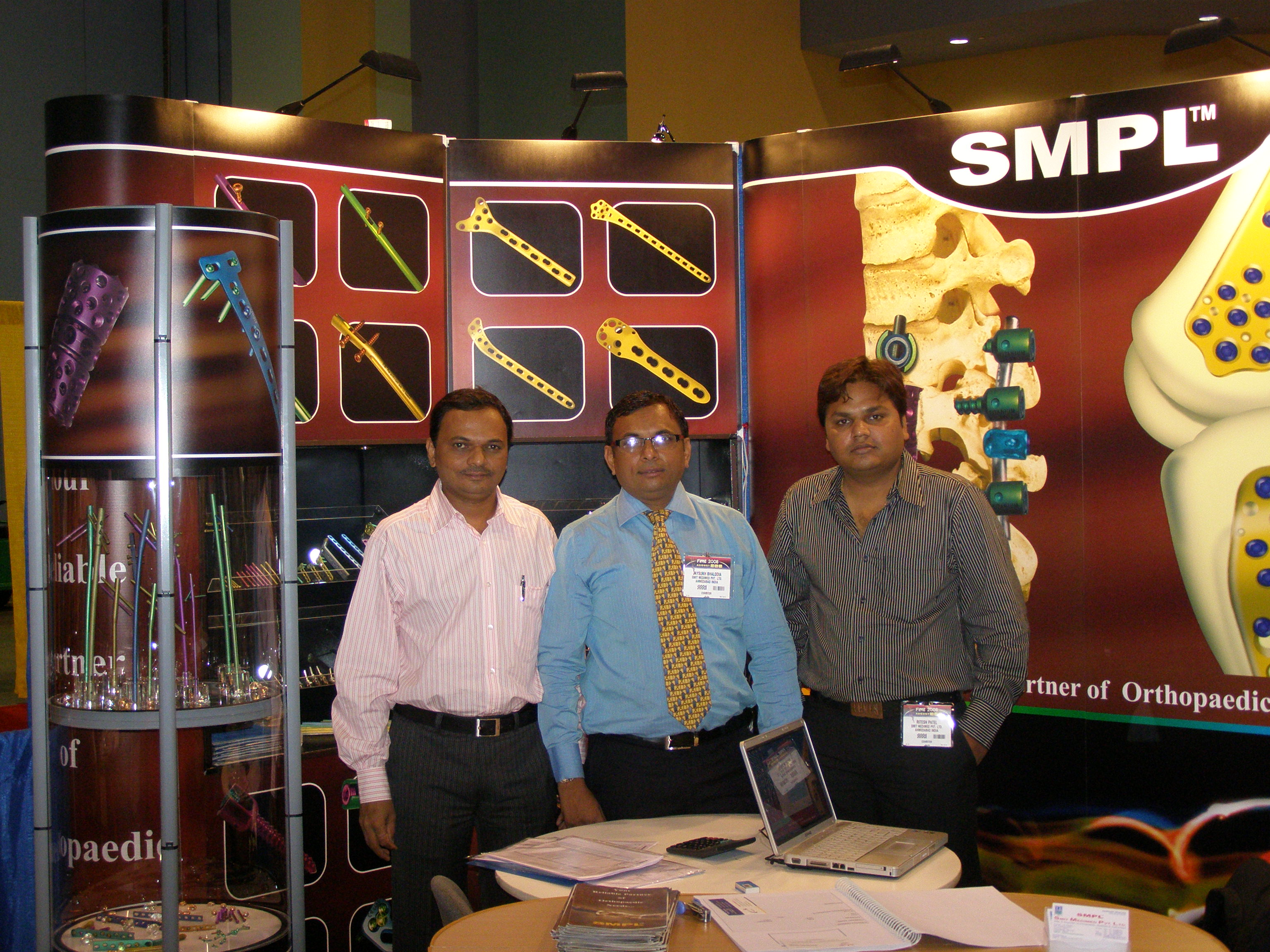 Fime 2008 Conference I Smit Medimed Pvt Ltd I Orthopedic Implant
