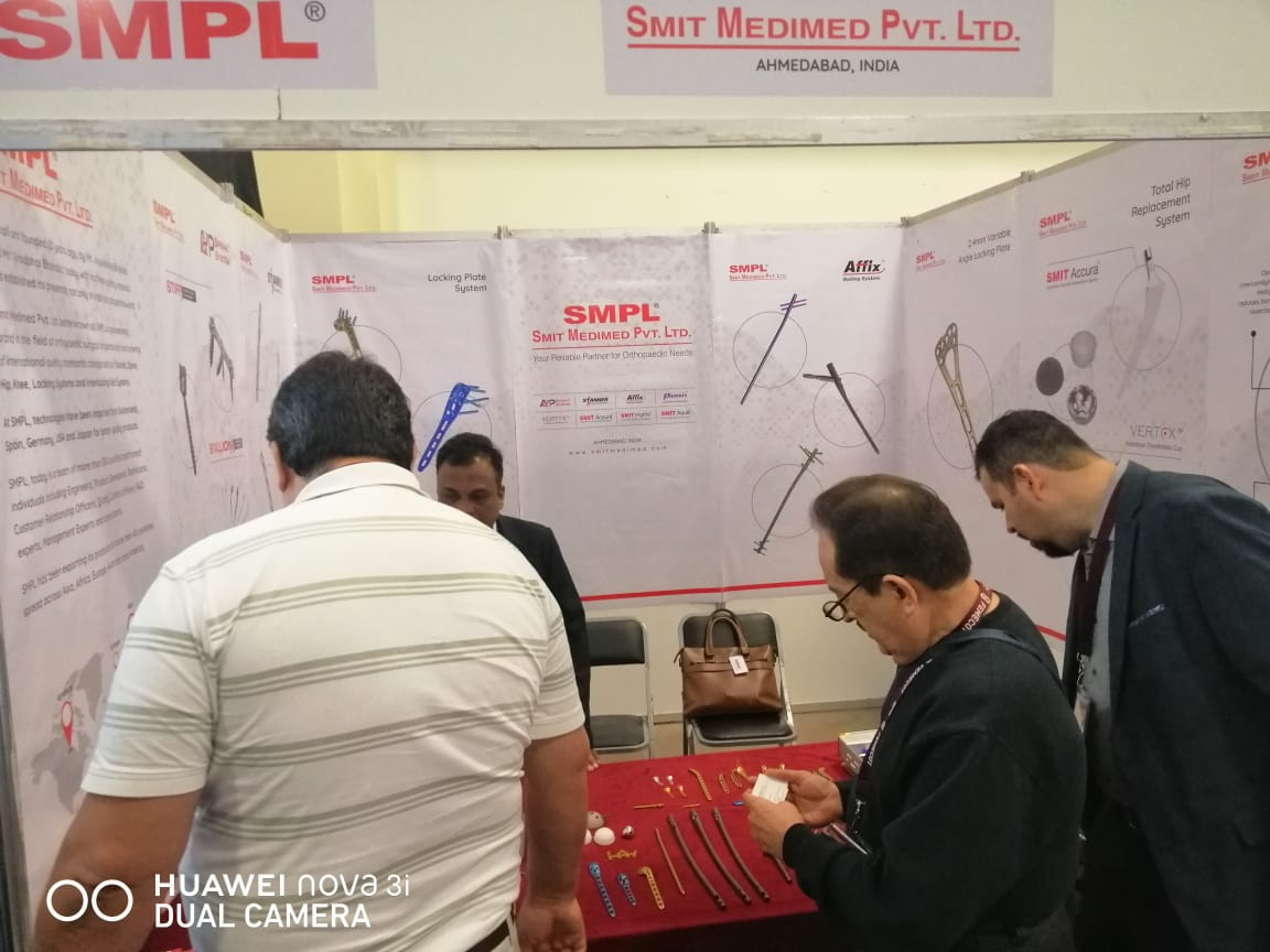 Participants Show our products in Femecot 2019 Conference at Mexico