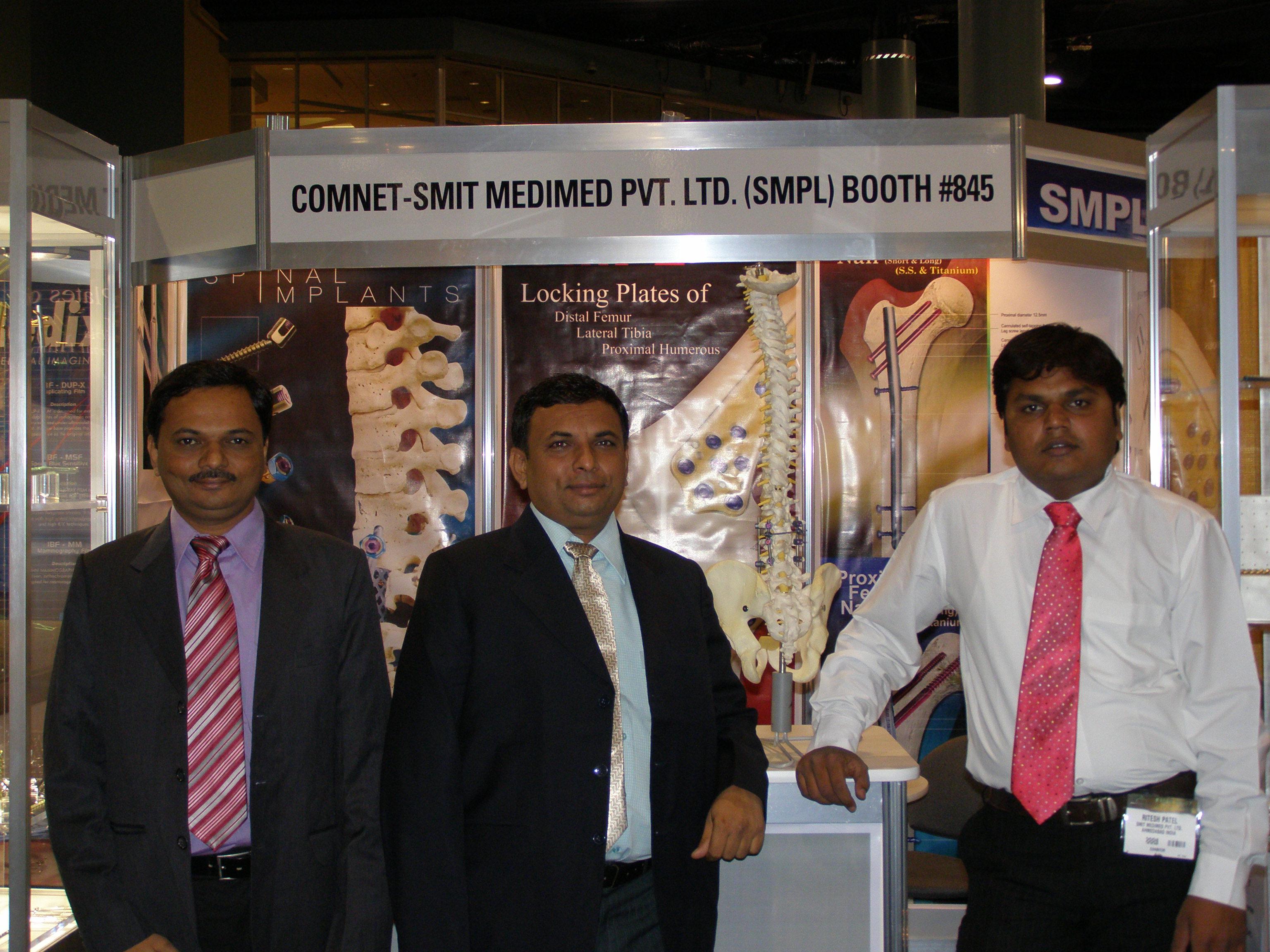 Fime 2007 Conference I Smit Medimed Pvt Ltd I Orthopedic Implants Manufacturer