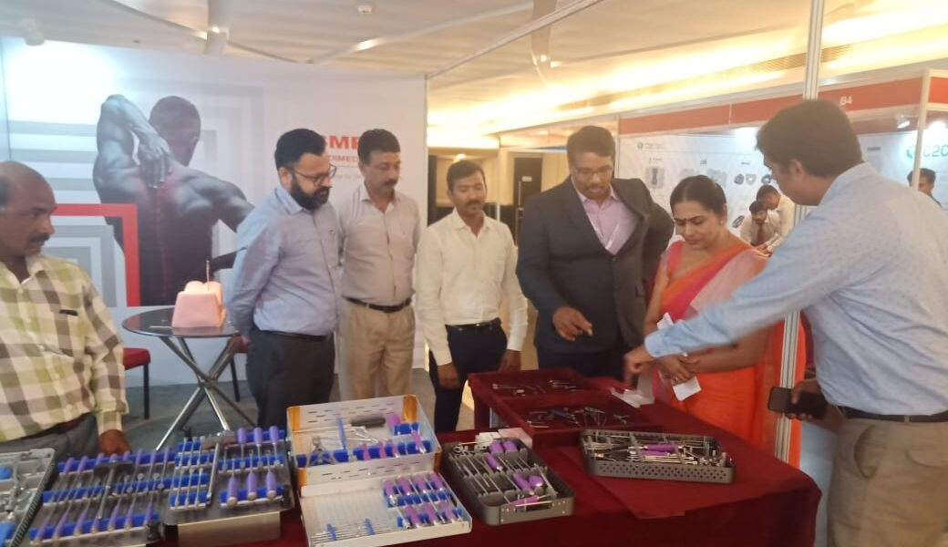 Smt Soumini Jain Mayor of Kochi was seen or all products at spine 2019