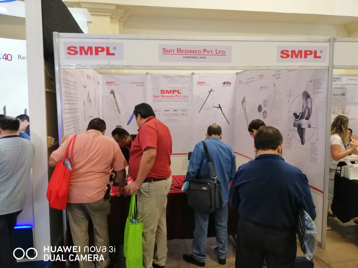 Smit Medimed Pvt Ltd Stall - Femecot 2019 Conference at Mexico